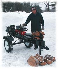american woodsplitter